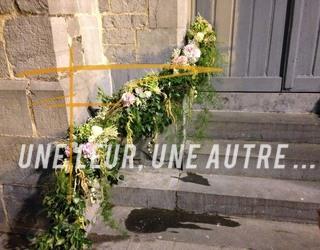 Une fleur, une autre - Mariage